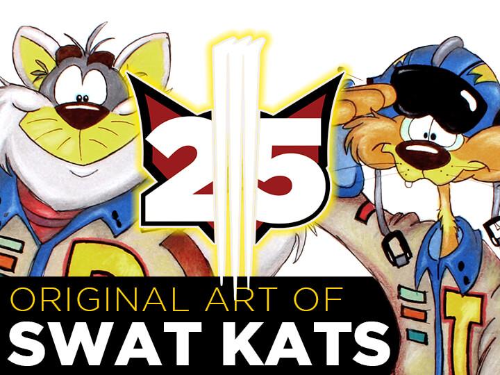 Original SWAT Kats Art