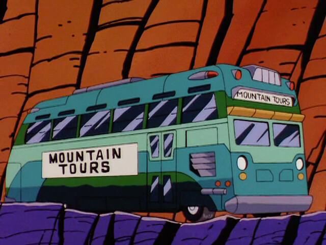 Mountain Tours Bus