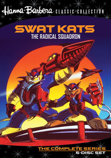SWAT Kats on DVD
