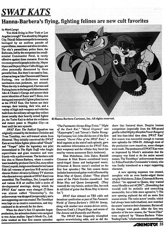 Animato Article