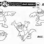 Model Sheets - Image 7 of 21