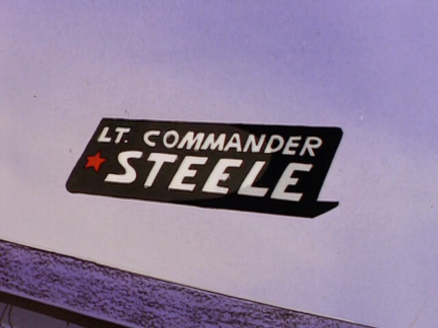 Lt. Commander Steel