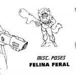 Model Sheets - Image 3 of 11