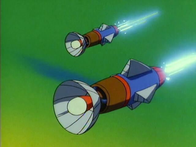 Flashbulb Missile