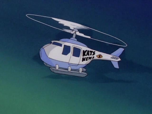 Kat's Eye News Chopper