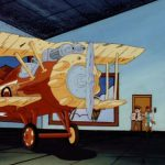 The Red Lynx's Biplane