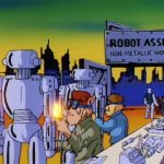 Robot Assembly Non-Metallic Work Camp