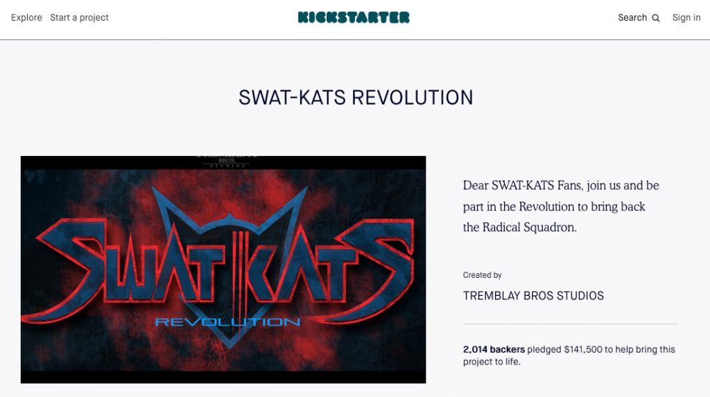 SWAT Kats Revolution