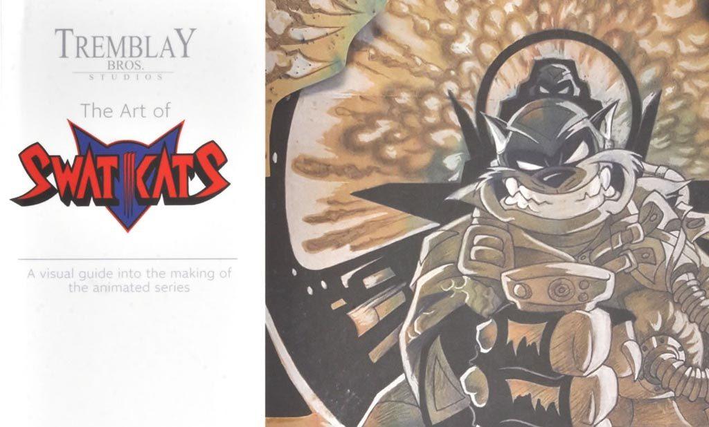 The Art of SWAT Kats Book