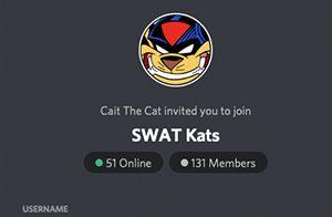 Cait's SWAT Kats Discord Server